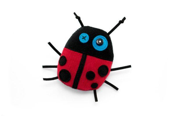 ladybug, handmade soft toys _ teeny tiny - antalou