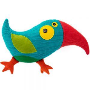 toucan blue_handmade soft toys by antalou