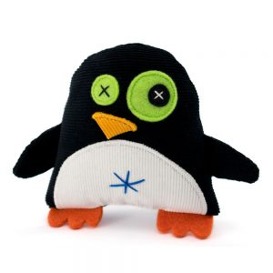 mini penguin handmade plush toy_by antalou