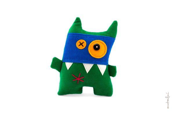 mini masked monster_ antalou handmade soft toys