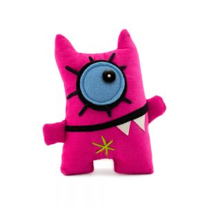 mini miss monster pink