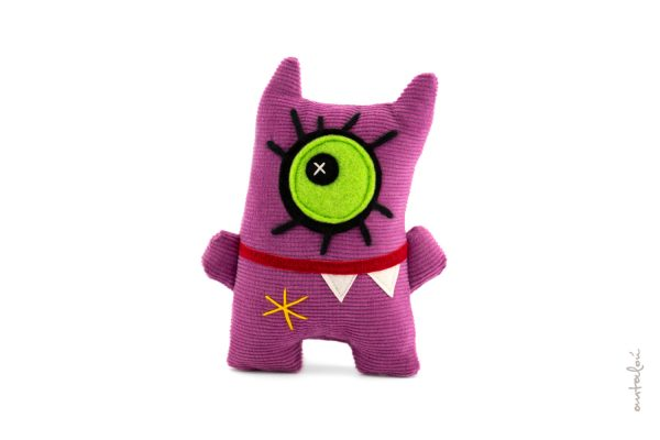 miss mini monster purple