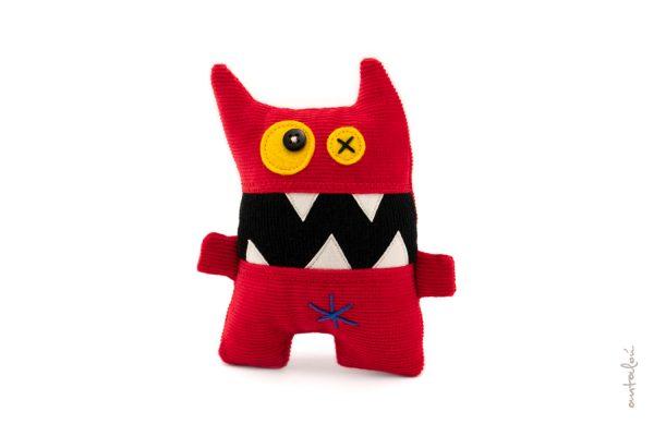 red shouting mini monster