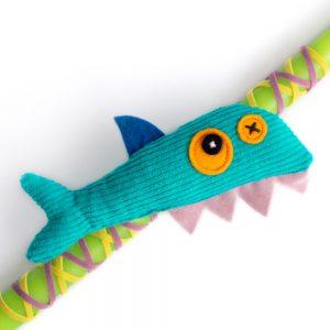 χειροποίητη λαμπάδα με καρχαρία, antalou