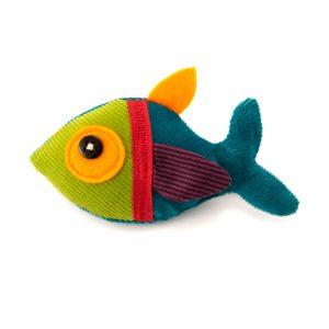 teeny fish_finger puppet, pin, decor